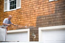 house wash wood siding