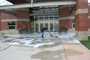 Silly power washer