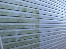Power Washing House Vinyl Siding